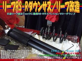 リーフRS-Rダウンサス(2)/リーフ改造02
