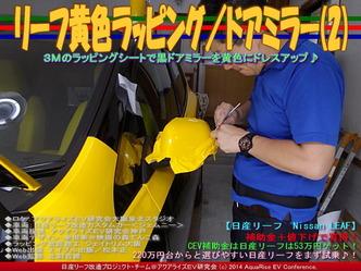 リーフ黄色ラッピング/ドアミラー(2)03