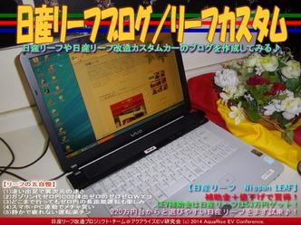 日産リーフブログ/リーフカスタム01