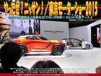 やったぜ!ニッサン!/東京モーターショー201501