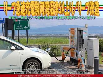 リーフ急速充電駿河湾沼津SA上り/リーフ改造04