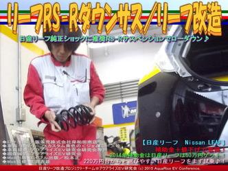 リーフRS-Rダウンサス/リーフ改造02