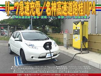 リーフ急速充電/名神高速道路桂川PA01