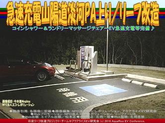 急速充電山陽道淡河PA上り/リーフ改造03