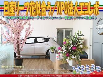 日産リーフ花似合う(5)/NPOエコレボ画像03