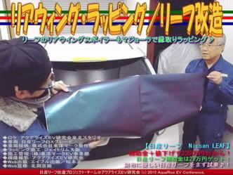リアウィング・ラッピング/リーフ改造01