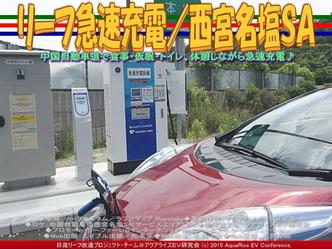 リーフ急速充電/西宮名塩SA01