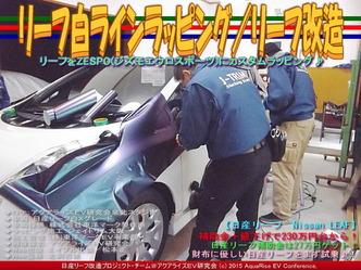 リーフ白ラインラッピング(4)/リーフ改造03