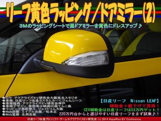 リーフ黄色ラッピング/ドアミラー(2)06