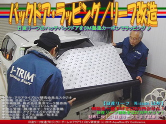 バックドア・ラッピング/リーフ改造05