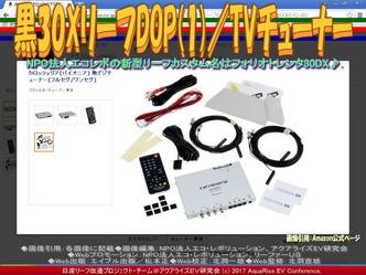 黒30XリーフDOP(1)/TVチューナー画像01
