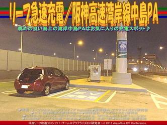 リーフ急速充電/阪神高速湾岸線中島PA05