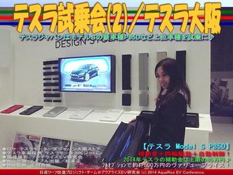 テスラ試乗会(2)/テスラ大阪03