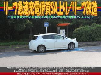 リーフ急速充電伊賀SA上り/リーフ改造03