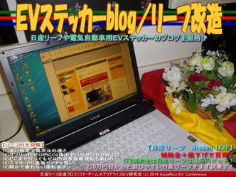 EVステッカーblog/リーフ改造01