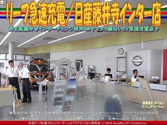 リーフ急速充電/日産藤井寺インター店02