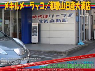メキルメ・ラッコ/和歌山日産大浦店02@日産リーフ改造