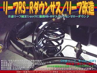 リーフRS-Rダウンサス/リーフ改造03