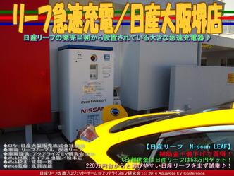 リーフ急速充電/日産大阪堺店04