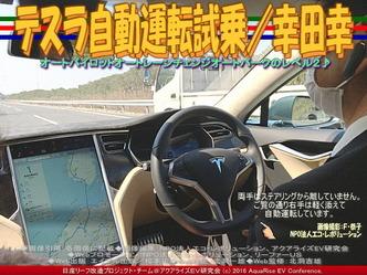 テスラ自動運転試乗(4)/幸田幸04