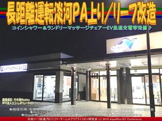長距離運転淡河PA上り/リーフ改造01
