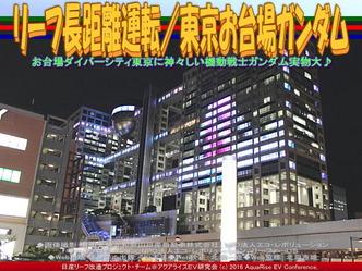 リーフ長距離運転/東京お台場ガンダム04