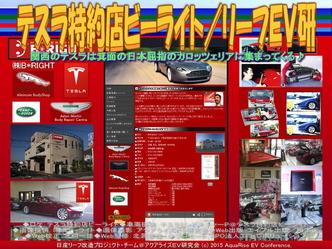 テスラ特約店ビーライト/リーフEV研01