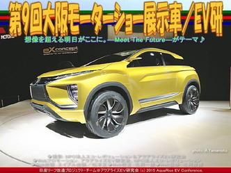 第9回大阪モーターショー展示車(5)/EV研04