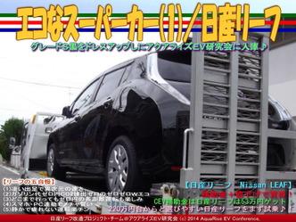 エコなスーパーカー(1)/日産リーフ02