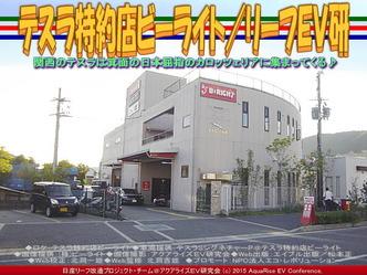 テスラ特約店ビーライト(3)/リーフEV研01
