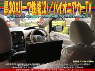 黒30Xリーフ性能(2)/パイオニアカーTV画像02