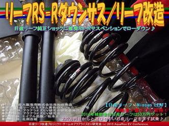 リーフRS-Rダウンサス/リーフ改造01