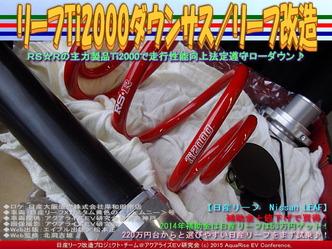 リーフTi2000ダウンサス/リーフ改造02