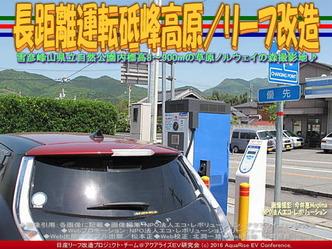 リーフ長距離運転/神河町砥峰高原03