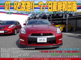 GT-Rと改造リーフ/日産岸和田南01