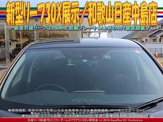 新型リーフ30X展示(2)/和歌山日産中島店02