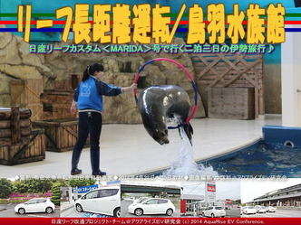 リーフ長距離運転/鳥羽水族館(2)@リーフ改造07