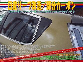 日産リーフ改造/部分カーボン@アクアライズEV研究会05
