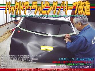 バックドア・ラッピング(2)/リーフ改造02