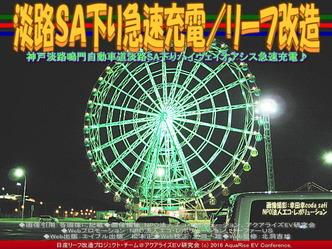 淡路SA下り急速充電(3)/リーフ改造02