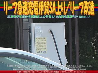 リーフ急速充電伊賀SA上り/リーフ改造02