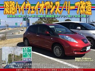 淡路ハイウェイオアシス(4)/リーフ改造01