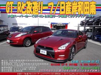 GT-Rと改造リーフ/日産岸和田南03