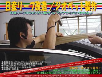 日産リーフ改造/ジオペット製作@アクアライズEV研究会 09