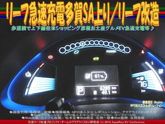 リーフ急速充電多賀SA上り/リーフ改造01