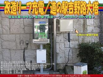 改造リーフ充電/道の駅吉野路大塔02