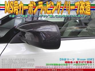MS号カーボンラッピング/リーフ改造03