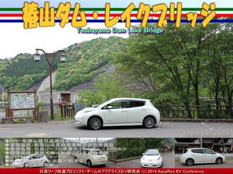 椿山ダム・レイクブリッジ@日産リーフ改造02