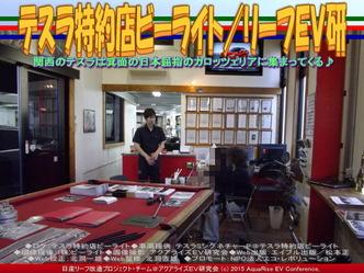 テスラ特約店ビーライト(3)/リーフEV研02