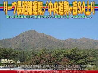 リーフ長距離運転/中央道駒ヶ岳SA上り04